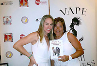 Christy Oldham, Donna Wilkes<br /> at the 'DemiGoddess Vape' Celebrity Lounge hosted by PhotoMundo Publishing, Westin Los Angeles Airport Hotel, Los Angeles, CA 07-09-16