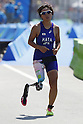 Yukako Hata (JPN),<br /> SEPTEMBER 11, 2016 - Triathlon : <br /> Women's Individual Paratriathlon PT2 <br /> at Fort Copacabana<br /> during the Rio 2016 Paralympic Games in Rio de Janeiro, Brazil.<br /> (Photo by Shingo Ito/AFLO)