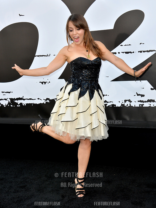 Olga Kay at the premiere for &quot;The Equalizer 2&quot; at the TCL Chinese Theatre, Los Angeles, USA 17 July 2018<br /> Picture: Paul Smith/Featureflash/SilverHub 0208 004 5359 sales@silverhubmedia.com