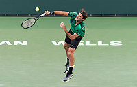 ROGER FEDERER (SUI)<br /> <br /> BNP PARIBAS OPEN, INDIAN WELLS, TENNIS GARDEN, INDIAN WELLS, CALIFORNIA, USA<br /> <br /> &copy; TENNIS PHOTO NETWORK