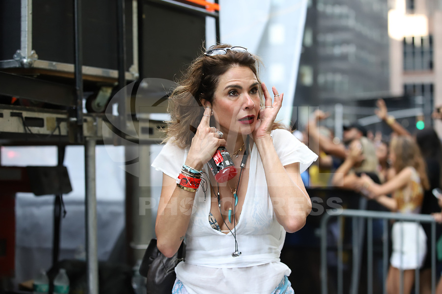 NOVA YORK (EUA) 01.09.2019 - BRAZILIAN-DAY - Apresentadora Luciana Gimenez durante Brazilian Day na cidade de Nova York neste domingo, 01. (Foto: Vanessa Carvalho/Brazil Photo Press)