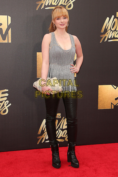 09 April 2016 - Burbank, California - Ashley Rickards. 2016 MTV Movie Awards held at Warner Bros. Studios. <br /> CAP/ADM/SAM<br /> &copy;SAM/ADM/Capital Pictures