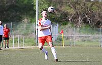 Julian Kasprzik (Büttelborn) - 07.04.2019: SKV Büttelborn vs. TSV Lengfeld, Gruppenliga Darmstadt
