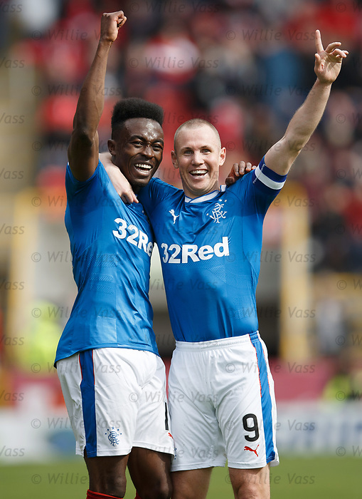 Joe Dodoo and Kenny Miller