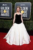 Amber Heard attends the 76th Annual Golden Globe Awards at the Beverly Hilton in Beverly Hills, CA on Sunday, January 6, 2019.<br /> *Editorial Use Only*<br /> CAP/PLF/HFPA<br /> Image supplied by Capital Pictures