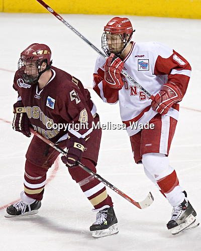 Brett Motherwell, Joe Pavelski - The University of Wisconsin Badgers defeated the Boston College Eagles 2-1 on Saturday, April 8, 2006, at the Bradley Center in Milwaukee, Wisconsin in the 2006 Frozen Four Final to take the national Title.
