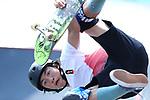 Dennis  Lijnzaat (INA),<br /> AUGUST 28, 2018 - Skateboarding : <br /> Men's Park Qualification<br /> at Jakabaring Sport Center Skatepark <br /> during the 2018 Jakarta Palembang Asian Games <br /> in Palembang, Indonesia. <br /> (Photo by Yohei Osada/AFLO SPORT)