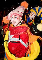 Quebec City, February 9, 2008 - Participant takes part in the first edition of the 2008 parade of the Carnaval de Quebec in the streets of the Charlesbourg borough Saturday February 2008.