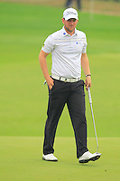 Bernd Wiesberger (AUT) on the 3rd green during Thursday's Round 1 of the 2014 BMW Masters held at Lake Malaren, Shanghai, China 30th October 2014.<br /> Picture: Eoin Clarke www.golffile.ie