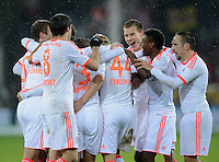 Fussball Bundesliga 2012/13: Freiburg - Bayern Muenchen