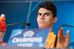 Roma Diego Perotti during press conference the day before champions league match between Atletico de Madrid and Roma at Wanda Metropolitano in Madrid, Spain. November 21, 2017. (ALTERPHOTOS/Borja B.Hojas)