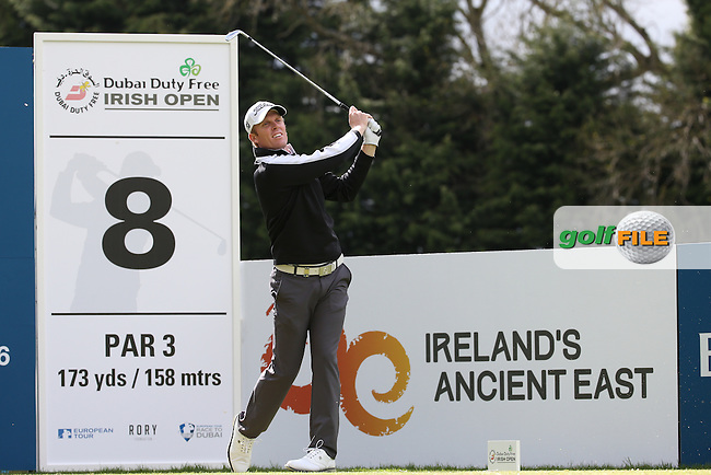 Andrew Dodt (AUS) during Round One of the 2016 Dubai Duty Free Irish Open Hosted by The Rory Foundation which is played at the K Club Golf Resort, Straffan, Co. Kildare, Ireland. 19/05/2016. Picture Golffile | David Lloyd.<br /> <br /> All photo usage must display a mandatory copyright credit as: &copy; Golffile | David Lloyd.