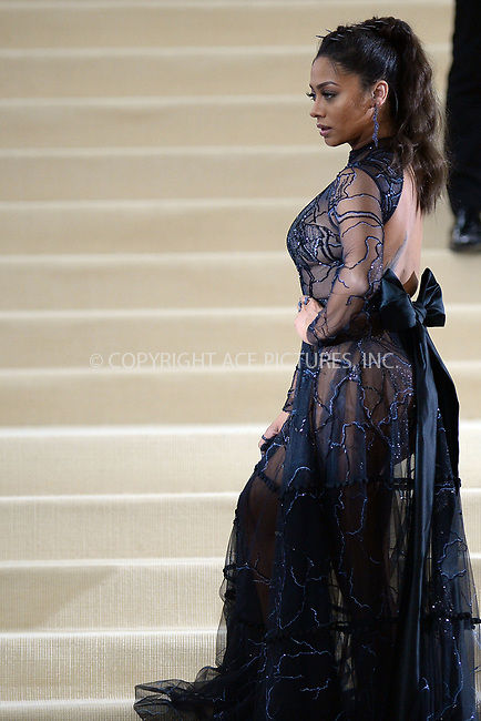 www.acepixs.com<br /> <br /> May 1 2017, New York City<br /> <br />  La La Anthony arriving at the 'Rei Kawakubo/Comme des Garcons: Art Of The In-Between' Costume Institute Gala at the Metropolitan Museum of Art on May 1, 2017 in New York City<br /> <br /> By Line: Kristin Callahan/ACE Pictures<br /> <br /> <br /> ACE Pictures Inc<br /> Tel: 6467670430<br /> Email: info@acepixs.com<br /> www.acepixs.com