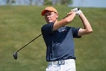 April 13, 2015; Ventura, CA, USA; Pepperdine Waves golfer Cody McManus during the WCC Golf Championships at Saticoy Country Club.