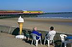 AF5GP1 Walton on Naze beach and pier Essex England
