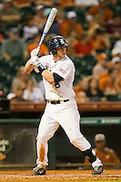 Michael Ratterree #8 of the Rice Owls at bat against the Texas Longhorns at Minute Maid Park on March 2, 2012 in Houston, Texas.  The Longhorns defeated the Owls 11-8.  (Brian Westerholt/Four Seam Images)