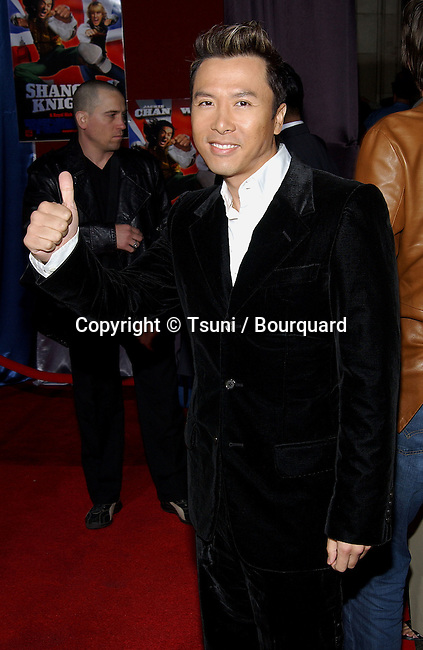 Donnie Yen arriving at the premiere of SHANGHAI KNIGHT premiere at the El Captain in Los Angeles. February 2, 2003          -            YenDonnie44.jpg