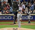 Masahiro Tanaka (Yankees), SEPTEMBER 18, 2015 - MLB : New York Yankees starter Masahiro Tanaka reacts as New York Mets' Lucas Duda hits a solo home run against the New York Mets in the second inning of a baseball game in New York, United States. (Photo by AFLO)