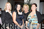 SUPPORTING: Supporting Lee Bradshaw in his quest to represent Ireland in the Eurovision Song Contest in the Station House on Friday night were L-r: Mary O'Halloran, Joanne Barry, Odette Guiney and Margaret Brick.................................. ....