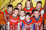 Ballybunion Wildcats under 10 basketball team pictured at the basketball blitz at Ballybunion Community Centre on Sunday.  Front l-r Jack O'Sullivan, Tommy O'Neill, Fionna?n Toomey and Michael Geogerty.  Back l-r. Pierce O'Sullivan, Jimmy Nolan, Oisi?n Ryall and Philip Byrne..
