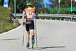 Vincent Fichte in action during the World Cup in Trento Monte Bondone © www.staminarollerski.com