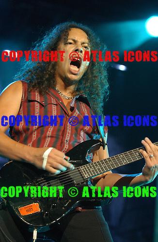 Metallica; 2003<br /> Photo Credit: Eddie Malluk/Atlas Icons.com