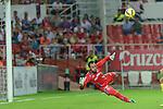 Sevilla's goalkeeper Beto during the match between Sevilla FC and Villarreal day 9 spanish  BBVA League 2014-2015 day 5, played at Sanchez Pizjuan stadium in Seville, Spain.(PHOTO: CARLOS BOUZA / BOUZA PRESS / ALTER PHOTOS)