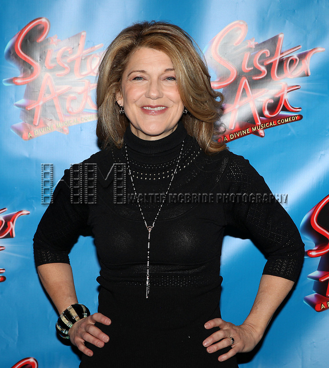 Victoria Clark.attending the Meet & Greet the press day for the New Broadway Musical 'Sister Act'  at the New 42nd Street Studios in New York City.