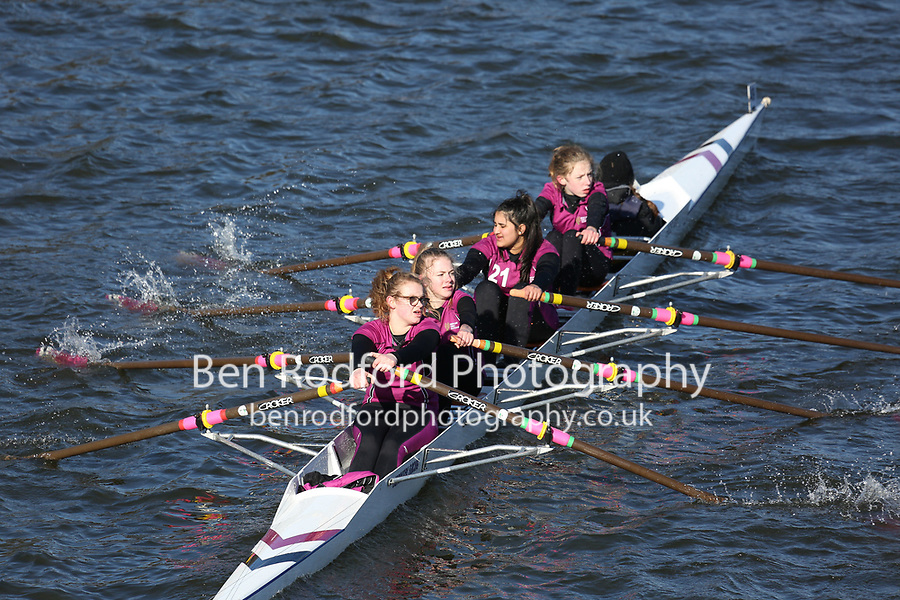 Crew: 49   Bedford Girls School Rowing Club   BGS-THOMAS   W.J14.4x+<br /> <br /> Head of the Trent 2018<br /> Division 2<br /> <br /> To purchase this photo, or to see pricing information for Prints and Downloads, click the blue 'Add to Cart' button at the top-right of the page.