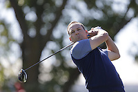 Sergio Garcia (Team Europe) on the 2nd tee during the Friday afternoon Fourball at the Ryder Cup, Hazeltine national Golf Club, Chaska, Minnesota, USA.  30/09/2016<br /> Picture: Golffile | Fran Caffrey<br /> <br /> <br /> All photo usage must carry mandatory copyright credit (&copy; Golffile | Fran Caffrey)