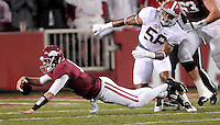 NWA Media/ J.T. Wampler - Arkansas against Alabama Oct. 11, 2014 in Fayetteville.