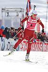IBU Biathlon World Cup<br /> &copy; Pierre Teyssot<br />  Tora berger (NOR SVK) in action during the IBU Biathlon World Cup in Hochfilzen, Austria.