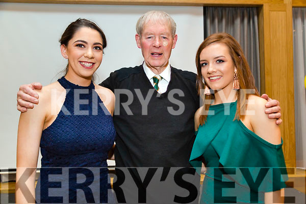 : <br /> <br /> <br /> <br /> Julianne O'Keeffe and Jessica Fitzell Kerry Senior Camogie players who were presented with their medals at the Kerry Camogie Awards dinners by Micheal O Mhuireachtaigh on Friday night in Ballyroe Heights Hotel,Tralee.