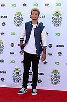 LOS ANGELES - SEP 8:  Jordan Fisher at the EIF Presents: XQ Super School Live at the Barker Hanger on September 8, 2017 in Santa Monica, CA
