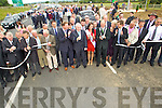 Minister Jimmy Deenihan pictured at the opening of the Tralee Bypass Road on Friday.