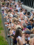 LOUISVILLE, KENTUCKY - MAY 01: Scenes from the backside and fans partake in Dawn at the Downs to get a glimpse of the next potential Kentucky Derby, Kentucky Oaks or Triple Crown winner at Churchill Downs in Louisville, Kentucky on May 1, 2019. Scott Serio/Eclipse Sportswire/CSM