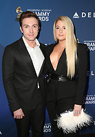 7 February 2019 - Los Angeles, California - Daryl Sabara, Meghan Trainor. the Delta Air Line 2019 GRAMMY Party held at Mondrian Los Angeles. Photo Credit: Faye Sadou/AdMedia