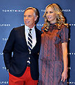 Tommy Hilfiger, Dee Hilfiger, Apr 16, 2012 : Fashion designer Tommy Hilfiger(L) and his wife Dee Hilfiger attend the Tommy Hilfiger Omotesando Flagship Store opening in Tokyo, Japan, on April 16, 2012.