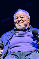 """NEW YORK - OCTOBER 5: Stephen McKinley Henderson attends the panel for FX's """"DEVS"""" during the 2019 NY Comic-Con at Hammerstein Ballroom on October 5, 2019 in New York City. (Photo by Anthony Behar/FX/PictureGroup)"""