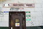 Mining machine shop