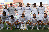LA Galaxy Starting Eleven. LA Galaxy vs FC Dallas at Pizza Hut Park Frisco, Texas July 27, 2008 Final Score 0-4.