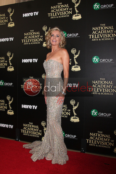 LOS ANGELES - JUN 22:  Eileen Davidson at the 2014 Daytime Emmy Awards Arrivals at the Beverly Hilton Hotel on June 22, 2014 in Beverly Hills, CA