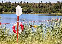 Mörfelden-Walldorf 04.07.2019: Badestelle Walldorf<br /> Badebetrieb an der Badestelle Walldorf<br /> Foto: Vollformat/Marc Schüler, Schäfergasse 5, 65428 R'heim, Fon 0151/11654988, Bankverbindung KSKGG BLZ. 50852553 , KTO. 16003352. Alle Honorare zzgl. 7% MwSt.