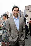 Adam Schefter of ESPN co-hosts the Brut News Network launch event, at The MPE Penthouse, on June 23, 2011.