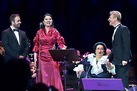 Jordi Galan, Montserrat Marti, Montserrat Caballe, Igor Portnoy<br /> Perfomance at State Kremlin palace, Moscow, Russia on June 06,  2018.<br /> **Not for sale in Russia or FSU**<br /> CAP/PER/EN<br /> &copy;EN/PER/Capital Pictures