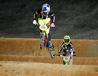 MEDELLIN- COLOMBIA -27-05-2016: Aspecto de las competencias en la categoría challengers en el marco del Campeonato Mundial de BMX 2016 que se realiza entre el 25 y el 29 de mayo de 2016 en la ciudad de Medellín. / Aspect of competencies in challenger's category as part of the 2016 BMX World Championships to be held between 25 and 29 May 2016 in the city of Medellin. Photo: VizzorImage / Cristian Alvarez / CONT