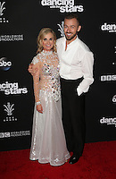 "Los Angeles, CA - NOVEMBER 22: Maureen McCormick, Artem Chigvintsev, At ABC's ""Dancing With The Stars"" Season 23 Finale At The Grove, California on November 22, 2016. Credit: Faye Sadou/MediaPunch"
