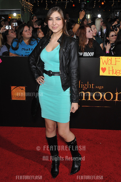 """Days of Our Lives"" star Shelby Young at the world premiere of ""The Twilight Saga: New Moon"" at Mann Village & Bruin Theatres, Westwood..November 16, 2009  Los Angeles, CA.Picture: Paul Smith / Featureflash"