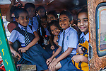 School children, Cochin, Kerala, India