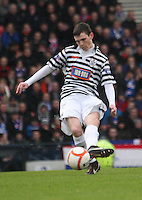 Andrew Robertson in the Queen's Park v Rangers Irn-Bru Scottish League Division Three match played at Hampden Park, Glasgow on 29.12.12. .